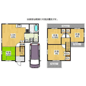 枚方市香里園東之町-4LDK{building type} 房間格局