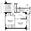 2K Apartment to Rent in Uozu-shi Floorplan
