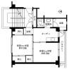 2K Apartment to Rent in Uozu-shi Floorplan