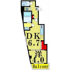 1DK Mansion in Iko - Adachi-ku Floorplan