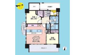 2LDK {building type} in Samoncho - Shinjuku-ku