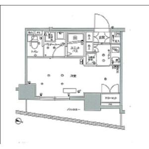 1K Mansion in Koishikawa - Bunkyo-ku Floorplan