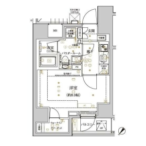 1K Mansion in Mukojima - Sumida-ku Floorplan