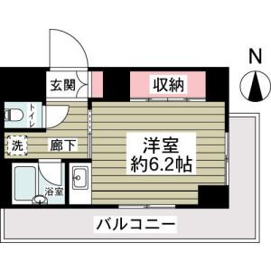 1K Mansion in Nekozane - Urayasu-shi Floorplan