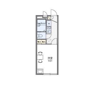 1K Apartment in Miyazaki - Kawasaki-shi Miyamae-ku Floorplan
