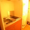 在富士见野市内租赁1K 公寓 的 厨房