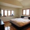 在横浜市中区购买4LDK 独栋住宅的 卧室