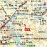 3LDK Apartment to Rent in Meguro-ku Map