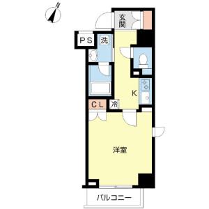 1K Mansion in Sakaecho - Itabashi-ku Floorplan