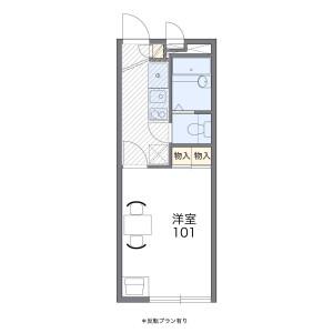 1K Apartment in Yutakacho - Sagamihara-shi Minami-ku Floorplan