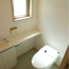 1R Apartment to Rent in Minato-ku Toilet