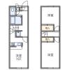 2DK Apartment to Rent in Narita-shi Floorplan