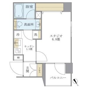 1K Mansion in Yayoicho - Nakano-ku Floorplan