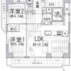 2LDK Apartment to Buy in Kyoto-shi Nakagyo-ku Floorplan