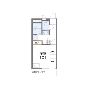 1K Apartment in Shinkawacho - Higashikurume-shi Floorplan
