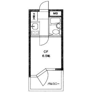 1K {building type} in Minamikarasuyama - Setagaya-ku Floorplan