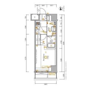 1K Mansion in Shinkoiwa - Katsushika-ku Floorplan
