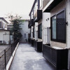 1K Apartment to Rent in Yamato-shi Balcony / Veranda