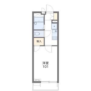 1K Mansion in Take - Kagoshima-shi Floorplan