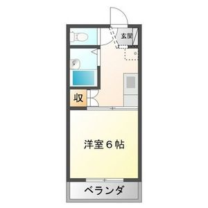 1K Mansion in Kotozuka - Gifu-shi Floorplan