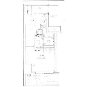 1K Mansion in Yanagibashi - Taito-ku Floorplan