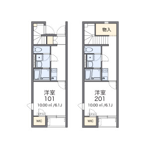 1K Apartment in Tamagawagakuen - Machida-shi Floorplan
