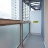 1LDK Apartment to Rent in Shinjuku-ku Balcony / Veranda