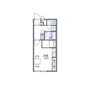 1K Mansion in Takahara - Okinawa-shi Floorplan