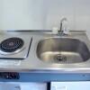 1K Apartment to Rent in Osaka-shi Miyakojima-ku Kitchen