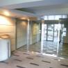 在新宿區內租賃1K 公寓大廈 的房產 Building Entrance
