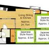 3LDK Apartment to Buy in Kyoto-shi Ukyo-ku Floorplan