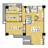 3LDK Apartment to Rent in Osaka-shi Yodogawa-ku Floorplan