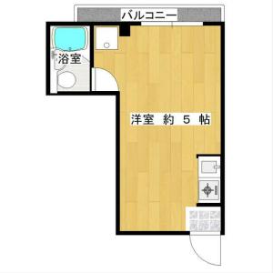 1R Mansion in Miyakojimahondori - Osaka-shi Miyakojima-ku Floorplan
