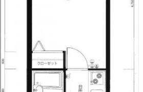 1K Apartment in Shirogane - Fukuoka-shi Chuo-ku