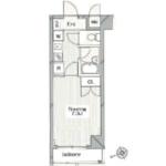1K Apartment in Toshincho - Itabashi-ku Floorplan