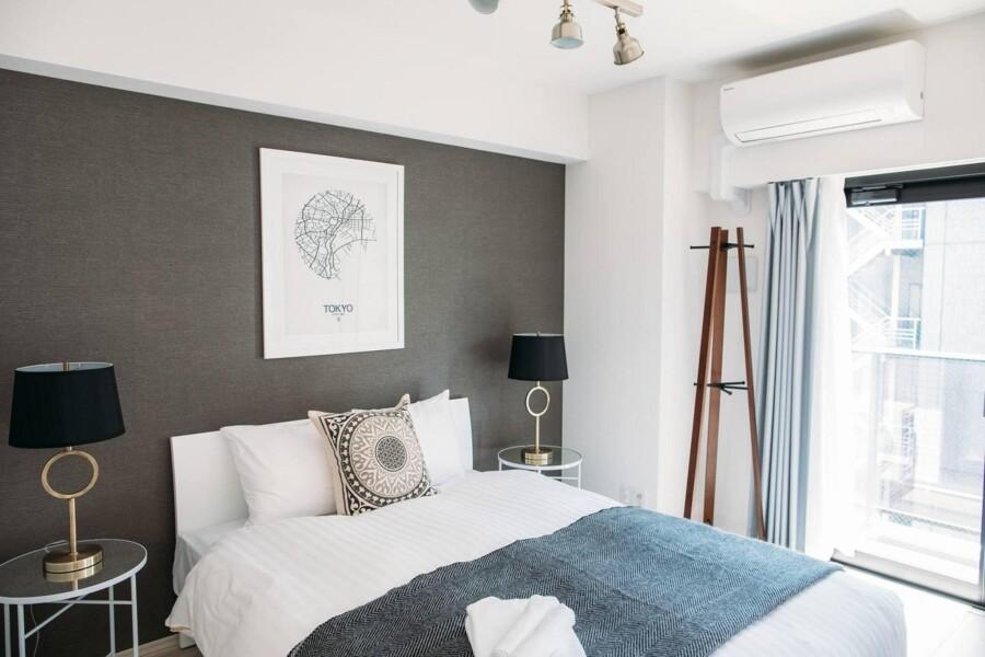 在Chuo-ku内租赁1LDK 简易式公寓 的 卧室
