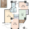 3DK Apartment to Buy in Suita-shi Floorplan