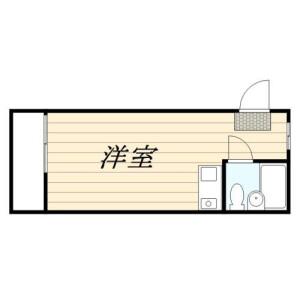 1R Mansion in Nerima - Nerima-ku Floorplan