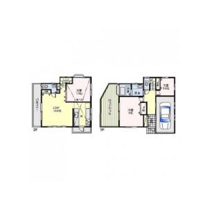 2SLDK House in Nagai - Yokosuka-shi Floorplan