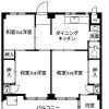 在松戸市内租赁3DK 公寓大厦 的 楼层布局