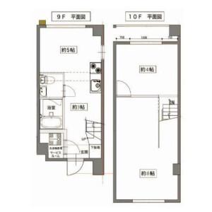 2SLDK Mansion in Nishiazabu - Minato-ku Floorplan