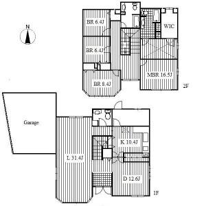 4LDK House in Issha - Nagoya-shi Meito-ku Floorplan