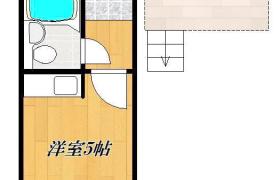 北区 - 滝野川 简易式公寓 1R