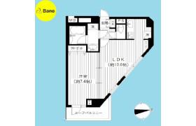 1LDK {building type} in Tokumaru - Itabashi-ku