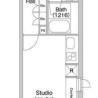 在澀谷區內租賃1R 公寓大廈 的房產 房間格局