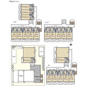 Whole Building {building type} in Bunka - Sumida-ku Floorplan