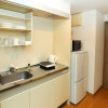 1K Apartment to Rent in Fukuoka-shi Hakata-ku Kitchen