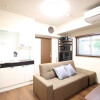 1R Apartment to Rent in Osaka-shi Nishiyodogawa-ku Living Room