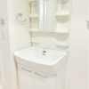 1LDK Apartment to Rent in Chiyoda-ku Washroom