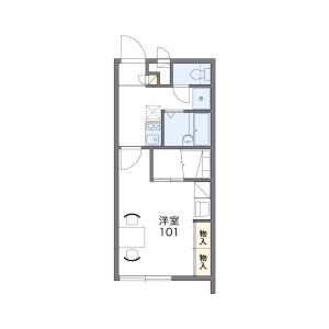 1K Mansion in Goeku - Okinawa-shi Floorplan